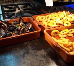 Meeresfrüchte in allen Variationen JS Hotel Yate