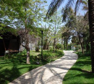 Schöne Wege laden zum Joggen ein Hotel Concorde De Luxe Resort