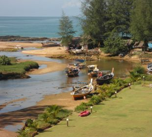 Vom Balkon zum Fluß-Meer Khao Lak Riverside Resort & Spa