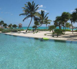Basen Secrets Maroma Beach Riviera Cancun