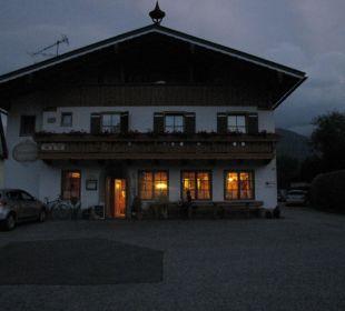Bei Nacht Gästehaus Watzmannblick