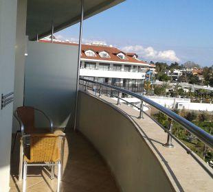 Balkon 4. Etage Superior/Junior-Suite Hotel Alba Royal