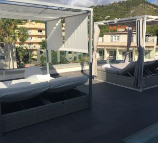 Gartenanlage Hotel Diamante