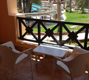 Terrasse chambre Hotel Safira Palms
