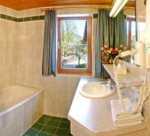 Badezimmer Pension Ausserwieserhof