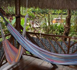 Unsere kleine Terrasse El Hotelito Perdido