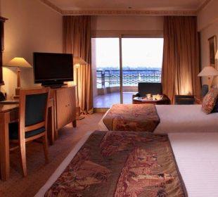 Twin Nile room Steigenberger Hotel Nile Palace