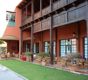 Außenbereich der Lobby La Palma Princess
