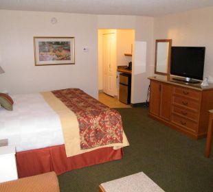 Blick von der Couch ins Zimmer Best Western Hotel A Wayfarer's Inn