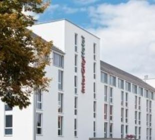 Außenansicht InterCityHotel Darmstadt