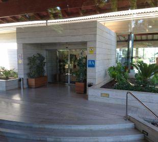 Eingang  Playa Garden Selection Hotel & Spa