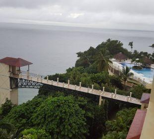 Ausblick Zimmer 402 Grand Bahia Principe Cayacoa