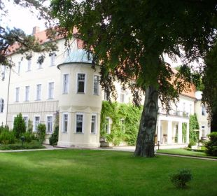 Das Haupthaus ohne Zimmer Hotel Schloss Schweinsburg