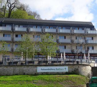 Hotel von außen Hotel Elbiente