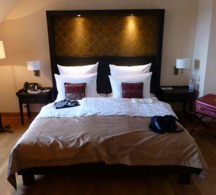 Sehr gutes Bett  Hotel Schloss Waldeck