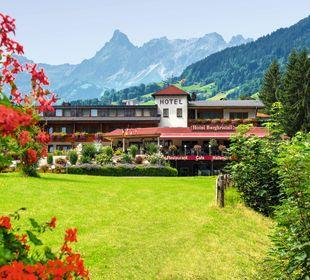 Außenansicht Hotel Bergkristall