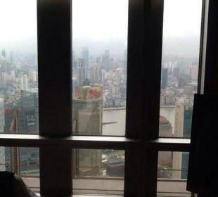 Ausblick auf die Skyline von Shanghai Hotel Grand Hyatt Shanghai