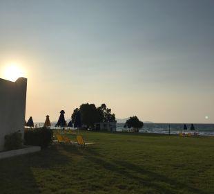 Ausblick Aeolos Beach Hotel