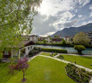Gartenanlage Hotel Bellevue