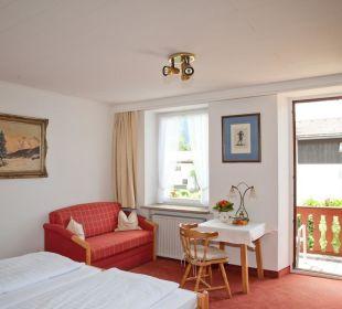 Doppelzimmer Gästehaus Hotel Garni Zibert