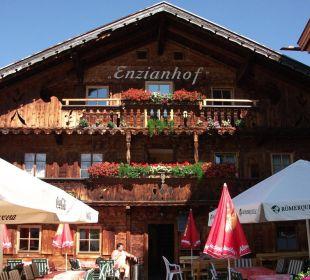 Ankunft Alpengasthof Enzianhof