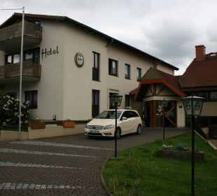 Hoteleingangsbereich Hotel Landhaus Silbertanne