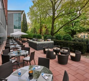 Terrace on the Park Hilton Frankfurt City Centre