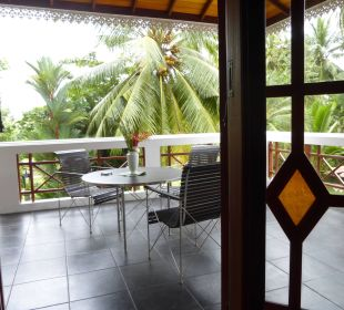 Room 4 balcony Amal Villa