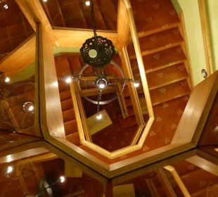 Im Treppenhaus Hotel Forsthaus Damerow