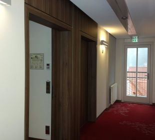 Eingang Superior Zimmer Nr. 36 3. Etage Hotel Elbiente