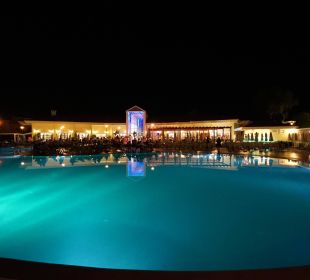 Main Pool at night Hotel Palm Wings Beach Resort