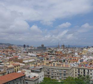 Ausblick von der Dachterrasse Hotel Andante