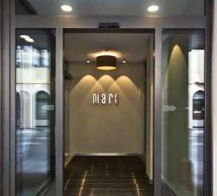 Eingang Marc München Hotel marc münchen
