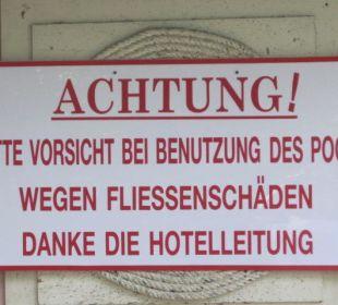 Warnung Hotel Pattaya Garden