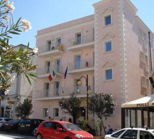 Veduta frontale Palace Hotel Vieste