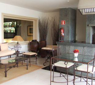 Teil des Speisesaals Hotel Boutique Villa VIK