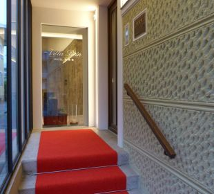 Der neue Eingangsbereich Hotel Villa Rein