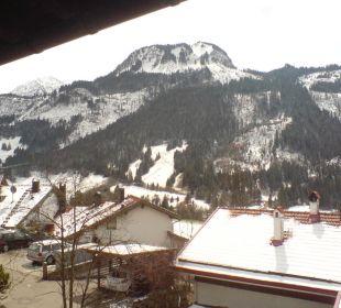 Balkonausblick nach links Schwandenhof Ferienwohnungen