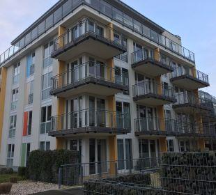 Außenansicht Aparthotel Duhner Strandhus
