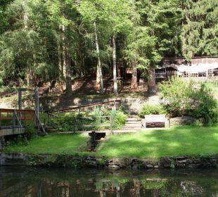 Parkähnliche Gartenanlage Hotel Heidsmühle