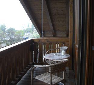 Balkon der Panoramasuite Hotel Neuer am See