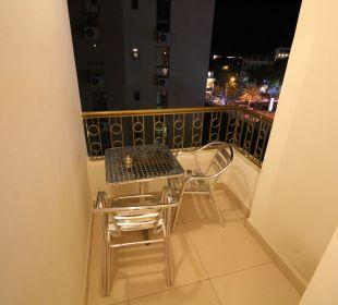 Balkon Al Qidra Hotel