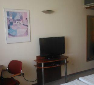 Wohnraum Globana Airport Hotel