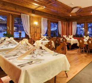 """""""Der schön gedeckte Tisch"""" Hotel Bergkristall"""