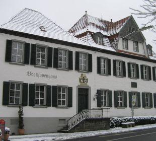 Außenansicht des Beethovenhaus Hotel Fürstenberg