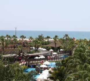 Aussicht vom Balkon Hotel Royal Dragon