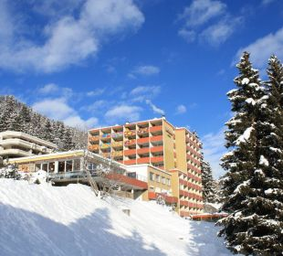 Aussenansicht Winter Hotel Panorama