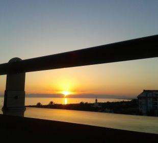 Traumhafte Sonnenuntergänge Sunis Hotel Evren Beach Resort & Spa