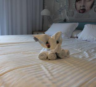 Ein schöner Dank an unser Zimmermädchen Mar Azul PurEstil  Hotel & Spa