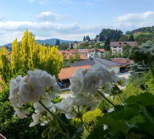 Blick von unserem Balkon Landhaus Meine Auszeit